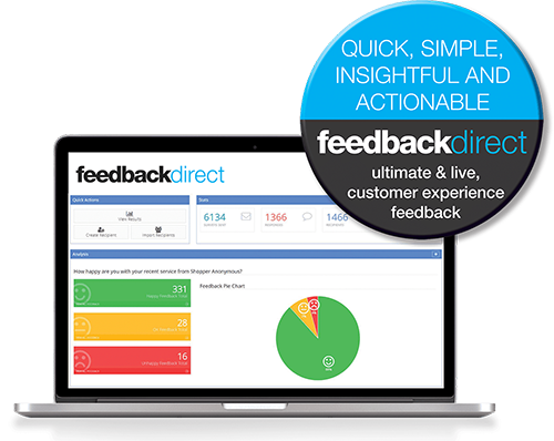 Image of the Feedback Direct dashboard